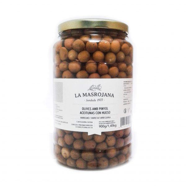 Aceitunas arbequina 900g