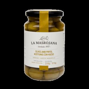 Aceitunas Manzanilla con hueso