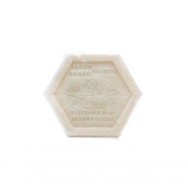 Jabón hexagonal vegetal exfoliante