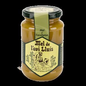 Miel de eucalipto 500g Cristalizada