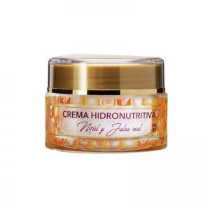 Crema facial de miel y jalea real