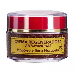 Crema facial antimanchas de propóleo