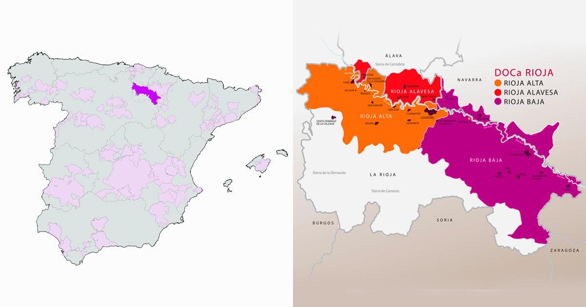 vinos Denominación de Origen Rioja
